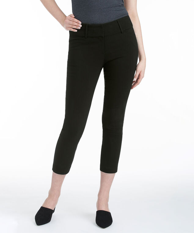 Microtwill Instant Smooth Crop, Black, hi-res