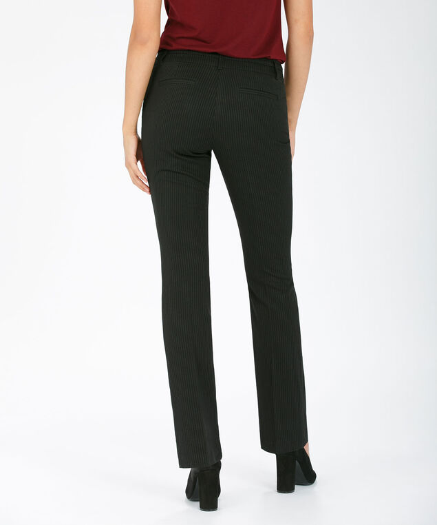 Tri-Blend Instant Smooth Straight Leg, Black Pinstripe, hi-res