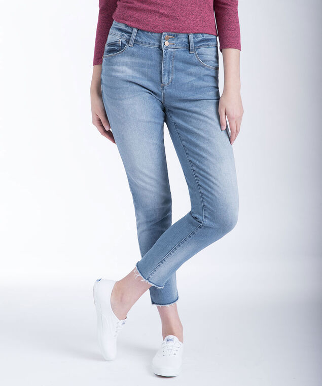 "Democracy ""Flex""ellent Skinny Jeans, Light Wash, hi-res"