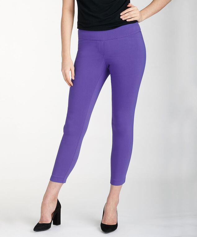 Microtwill Instant Smooth Ankle Pant, Iris, hi-res
