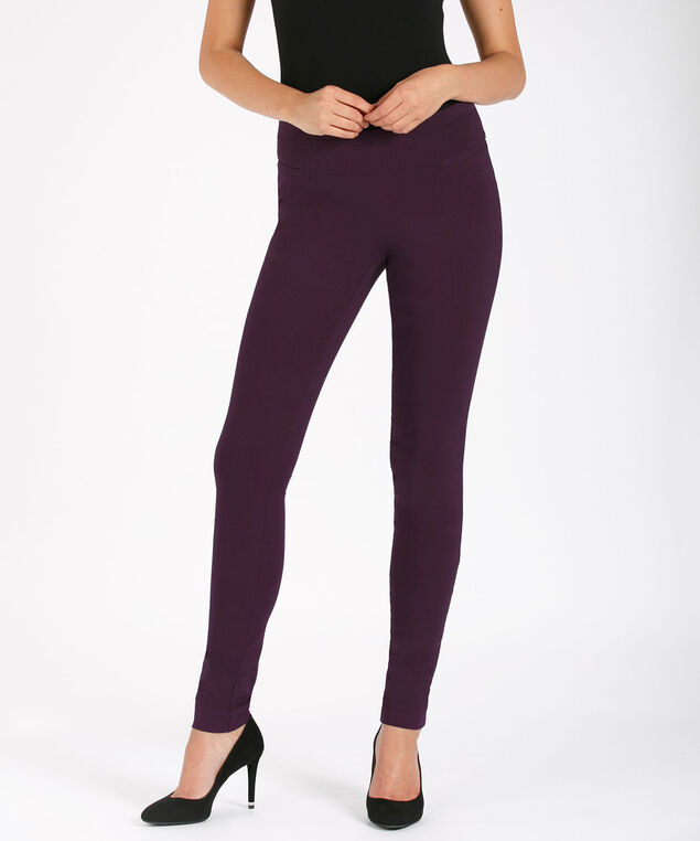 Microtwill Super Slim Leg, Dark Purple, hi-res