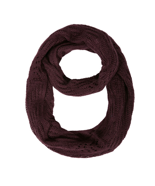 POINTELLE ETERNITY Scarf, Wineberry, hi-res