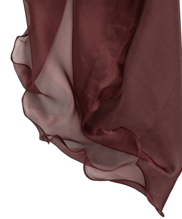 Wavey-Edge Shawl Cover-Up, Port, hi-res