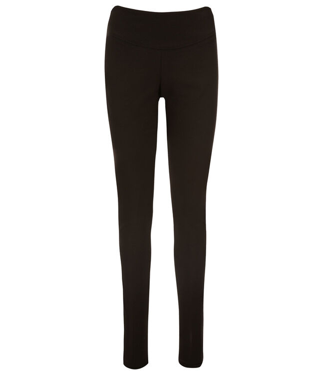 Luxe Ponte Instant Smooth Legging, Black, hi-res