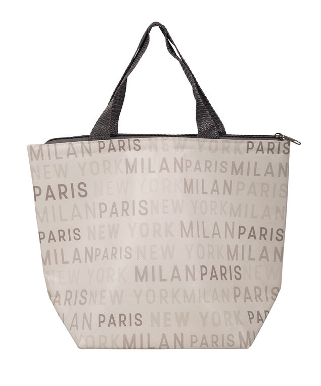 LUNCH TOTE, White/Grey, hi-res