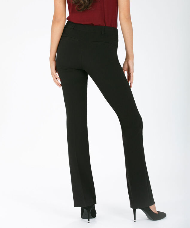 Tri-Blend Instant Smooth Bootcut Leg, Black, hi-res