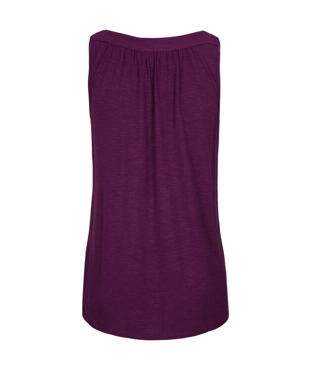 Ruched Boat neck, Ultra Purple, hi-res