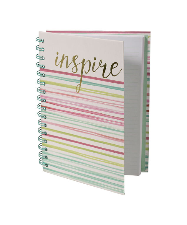 INSPIRE NOTEBOOK, Pink/Blue/White, hi-res