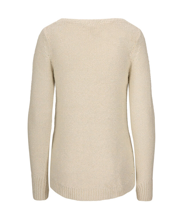 Round Neck Pullover Sweater, Mint, hi-res
