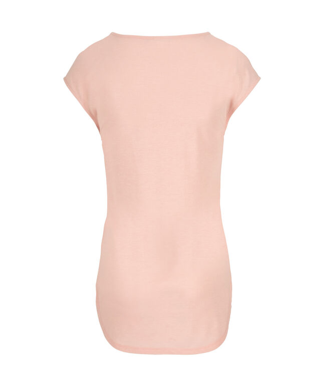 Extended Sleeve Tee, Misty Pink, hi-res