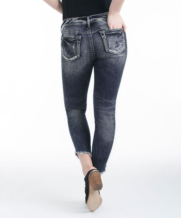 Silver Jeans Co. Suki Ankle Jean, Mid Wash, hi-res