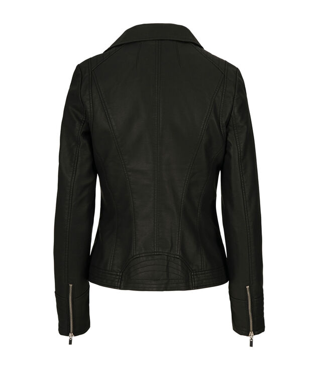 Moto Jacket, Black, hi-res