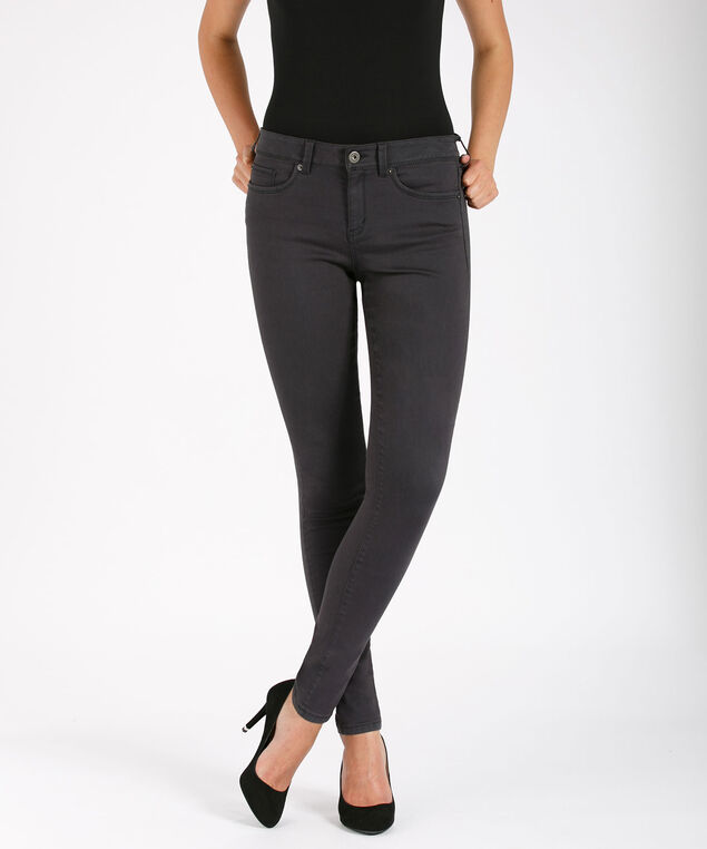 Ultimate Fly Front Jegging, Charcoal, hi-res