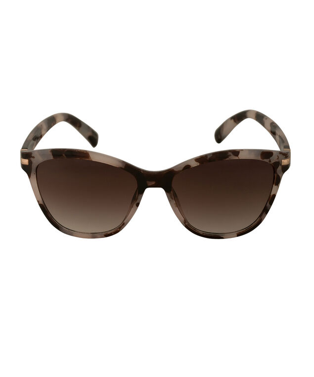 Marble Frame Cateye Sunglasses, Purple/Brown/Silver, hi-res