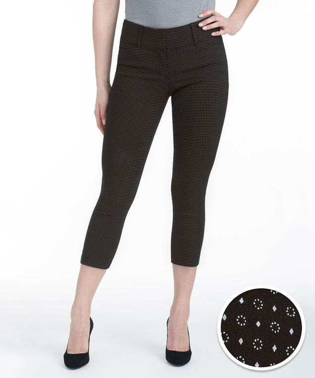 Microtwill Instant Smooth Crop, Black Pattern, hi-res
