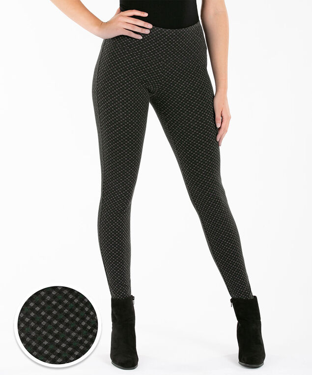 Luxe Ponte Legging, Charcoal/Sycamore, hi-res