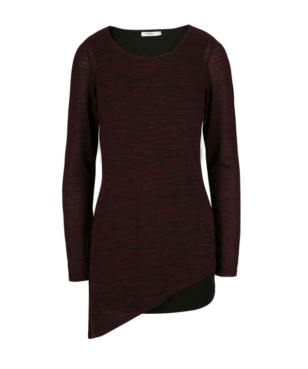 Hacci Tunic, Wineberry, hi-res