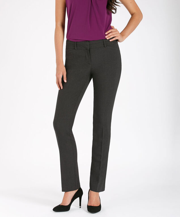 Tri-Blend Instant Smooth Straight Leg, Charcoal, hi-res