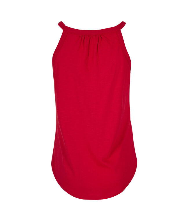 Sweetheart Neck Tank, Red, hi-res