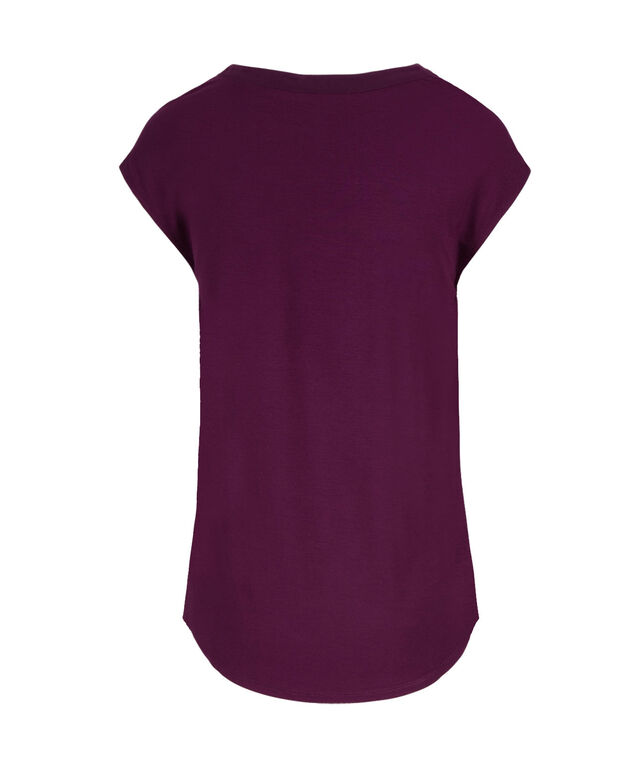 Extended Sleeve Henley, Ultra Purple, hi-res