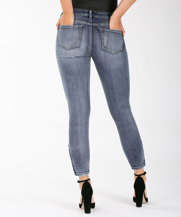 Pearl Button Ankle Jean, Mid Wash, hi-res