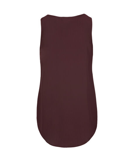 Sleeveless Pleat Front Blouse by Ricki's