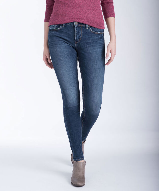 Silver Jeans Co. Avery Super Skinny Jeans, Denim, hi-res