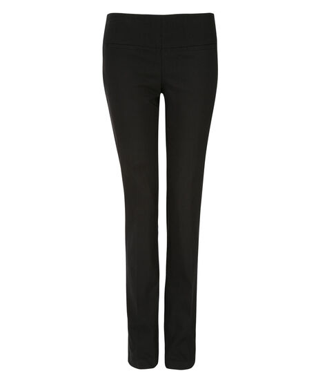 Microtwill Instant Smooth Straight, Black, hi-res