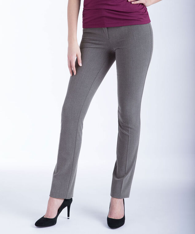 Tri-Blend Instant Smooth Straight Leg, Heather Grey, hi-res