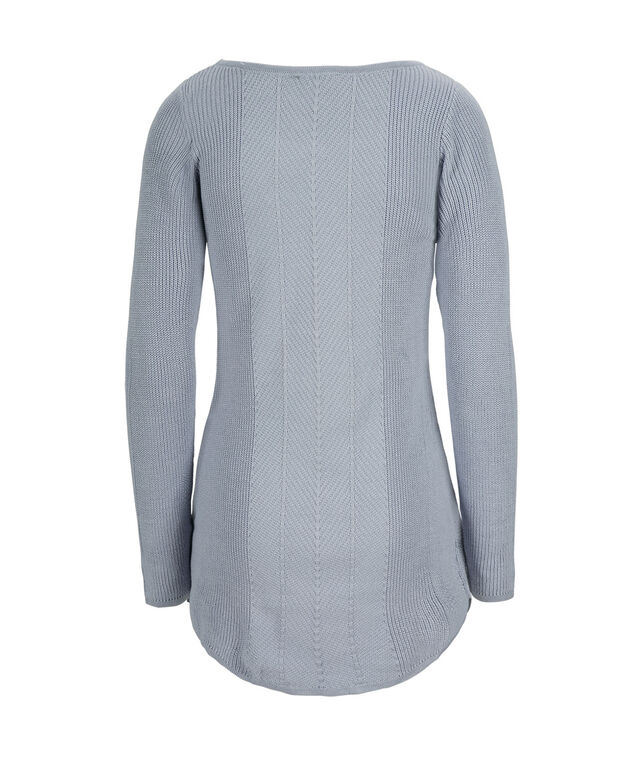 Multi Rib Tunic, Icy Blue, hi-res