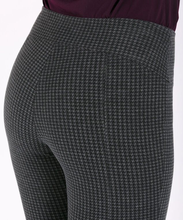 Luxe Ponte Instant Smooth Legging, Grey/Black, hi-res