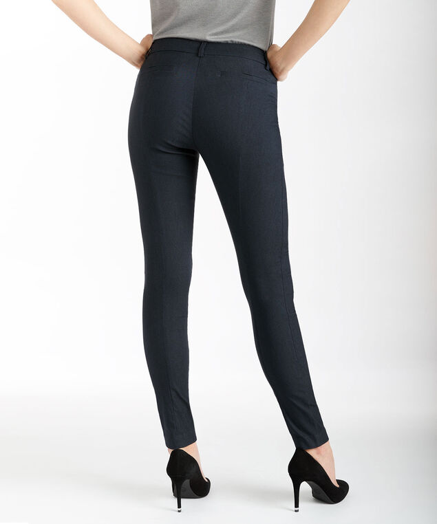 Microtwill Instant Smooth Super Slim, Heather Navy, hi-res