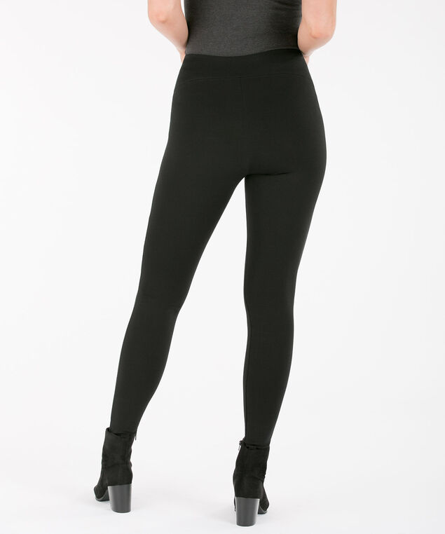 Luxe Ponte Legging, Black, hi-res