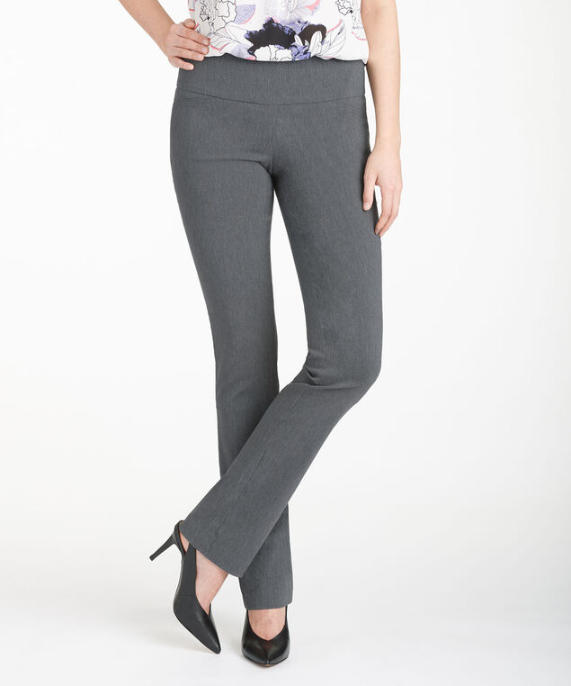 MICROTWILL INSTANT SMOOTH STRAIGHT LEG, Heather Grey, hi-res