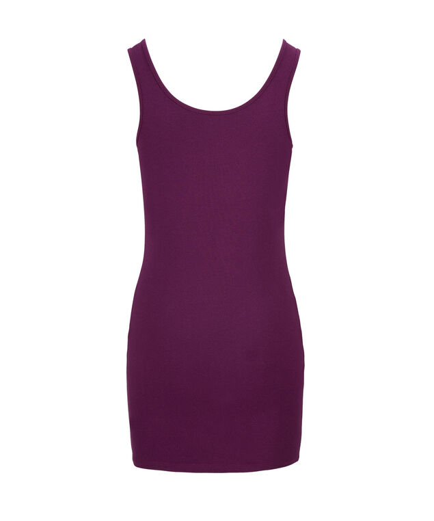 Tunic Length Cami, Ultra Purple, hi-res