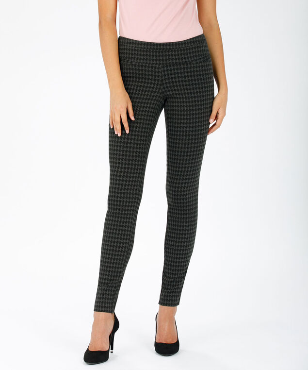 Microtwill Super Slim Leg, Black/Grey/Houndstooth, hi-res