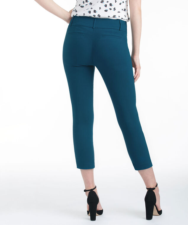 Microtwill Instant Smooth Crop, Midnight Teal, hi-res