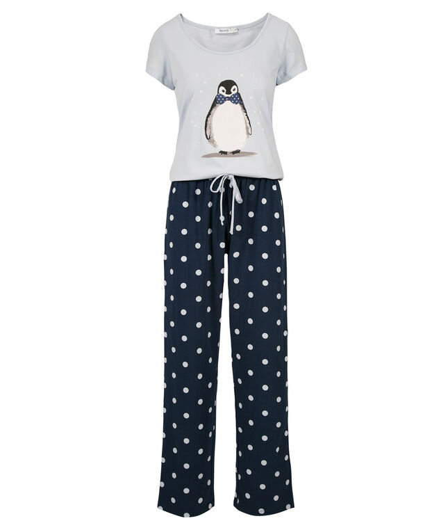 Penguin Pajamas, Icy Blue/Deep Sapphire, hi-res
