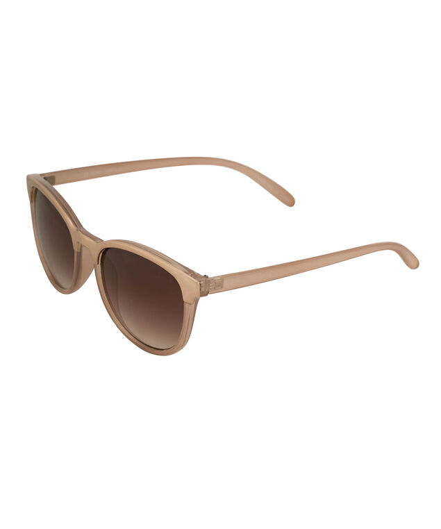 Gold Brow Cateye Sunglasses, Blush/Gold, hi-res