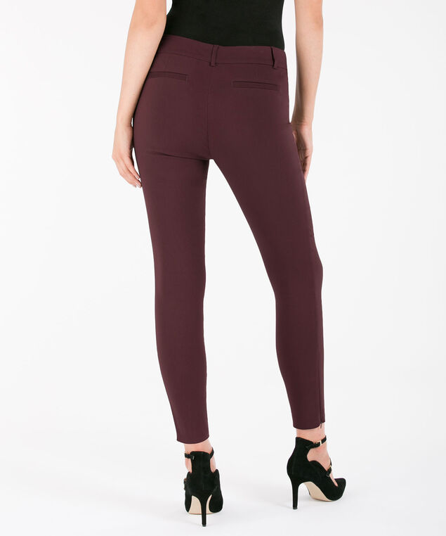 Microtwill Fly Front Ankle - Short, Port, hi-res