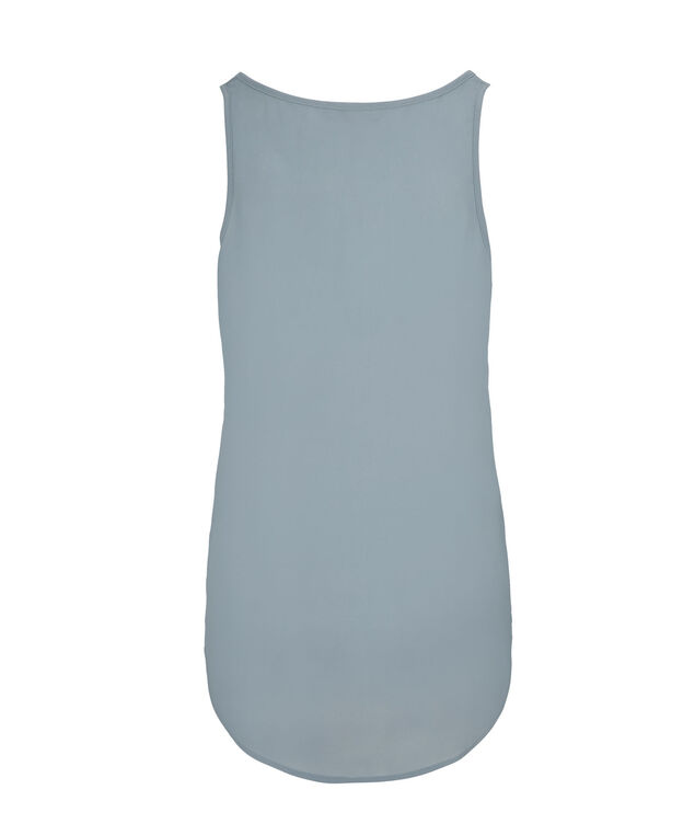 Woven Layering Cami, Icey Blue, hi-res