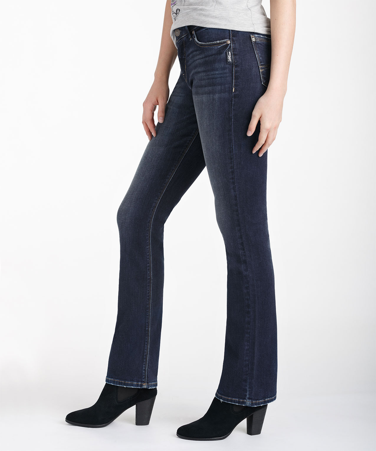 Silver Jeans Co Avery Slim Bootcut Jean Rickis