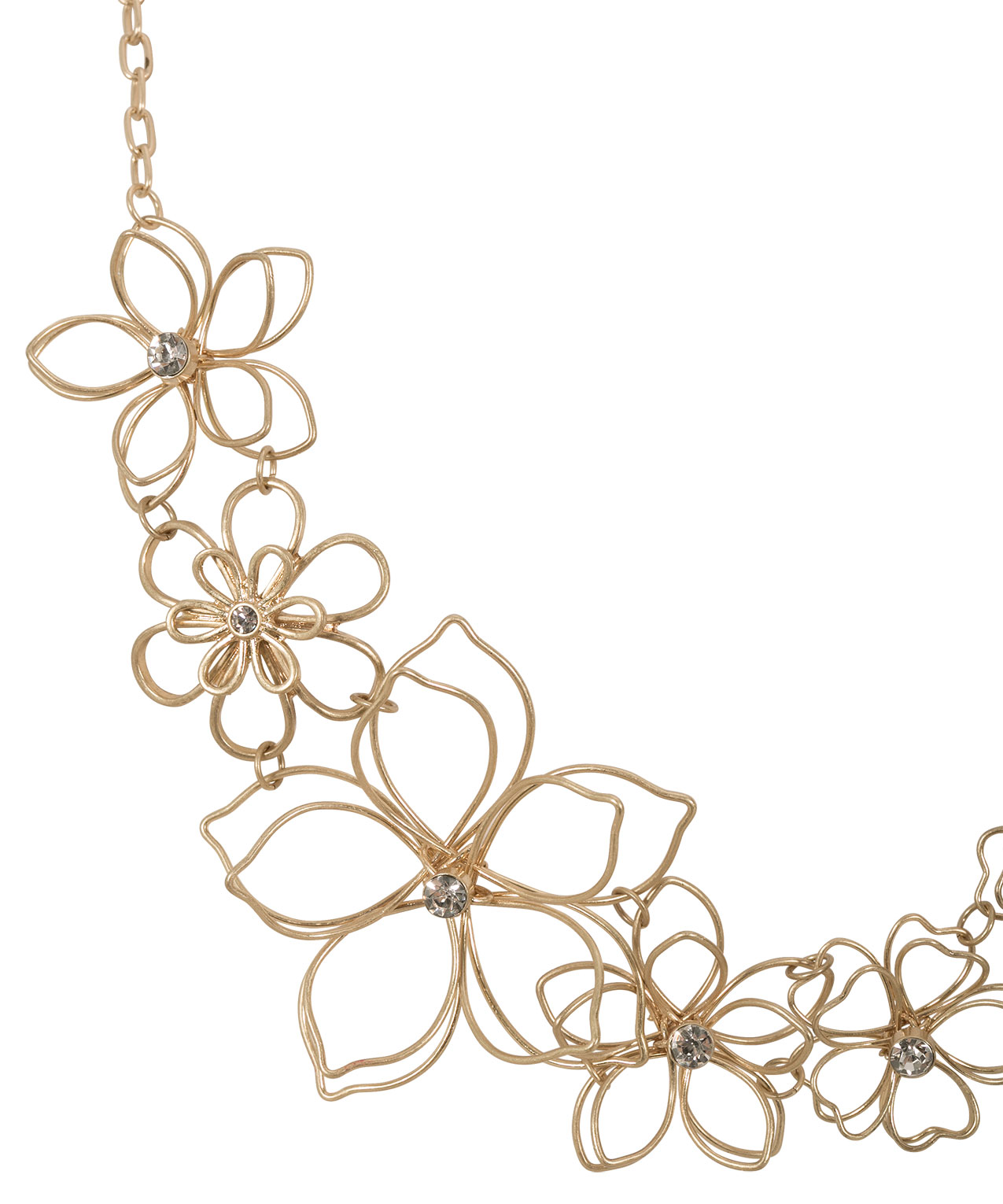 Floral Wire Necklace | Rickis