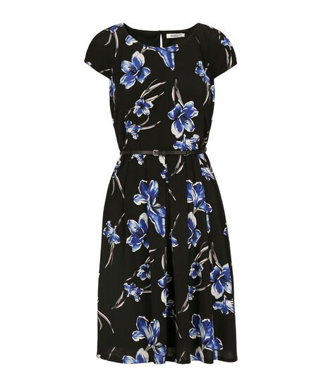 Floral Puff Print Dress by Ricki's