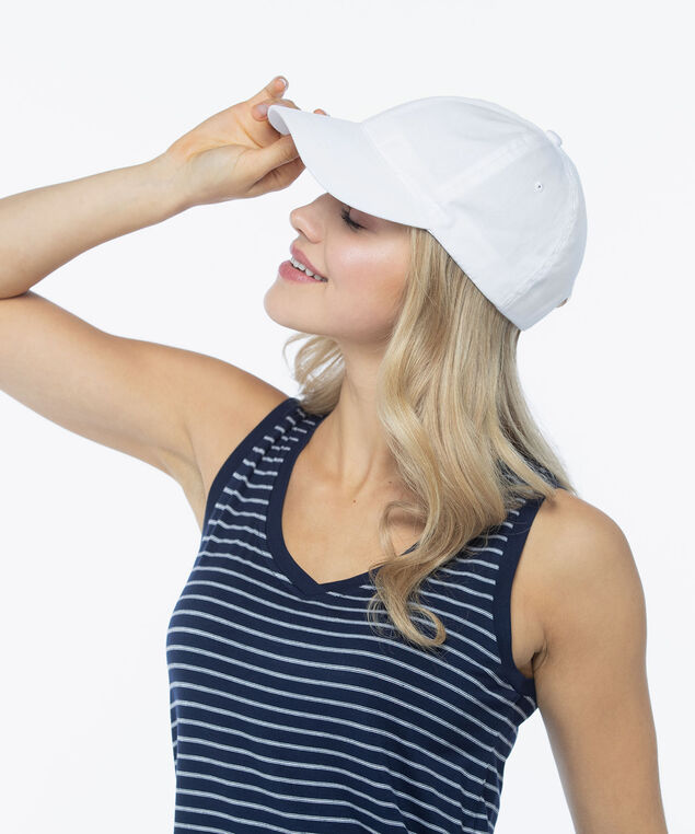 Beach Baseball Cap, True White, hi-res