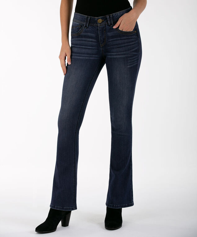 "Democracy ""Ab""Solution Luxe Touch Boot Cut, Blue wash, hi-res"
