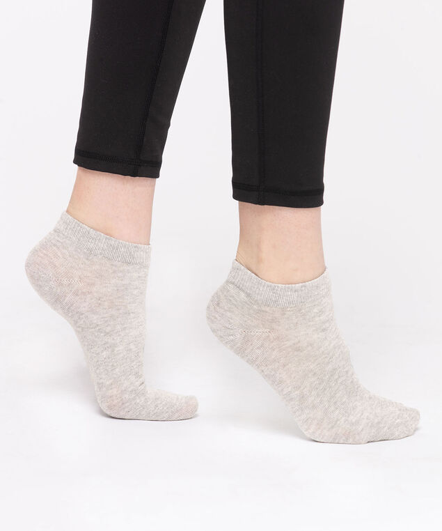 Grey Basic Ankle Socks, Grey