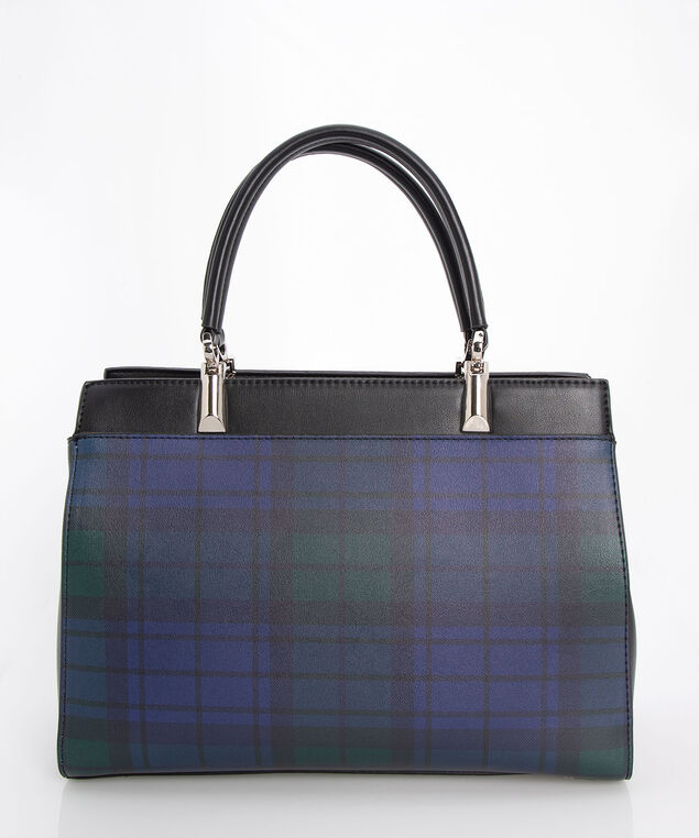 Blackwatch East West Handbag, Black/True Navy/Deep Green, hi-res