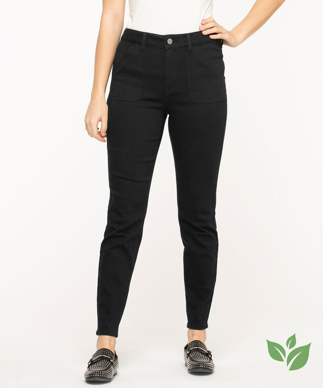 Eco Friendly Utility Jegging, Black