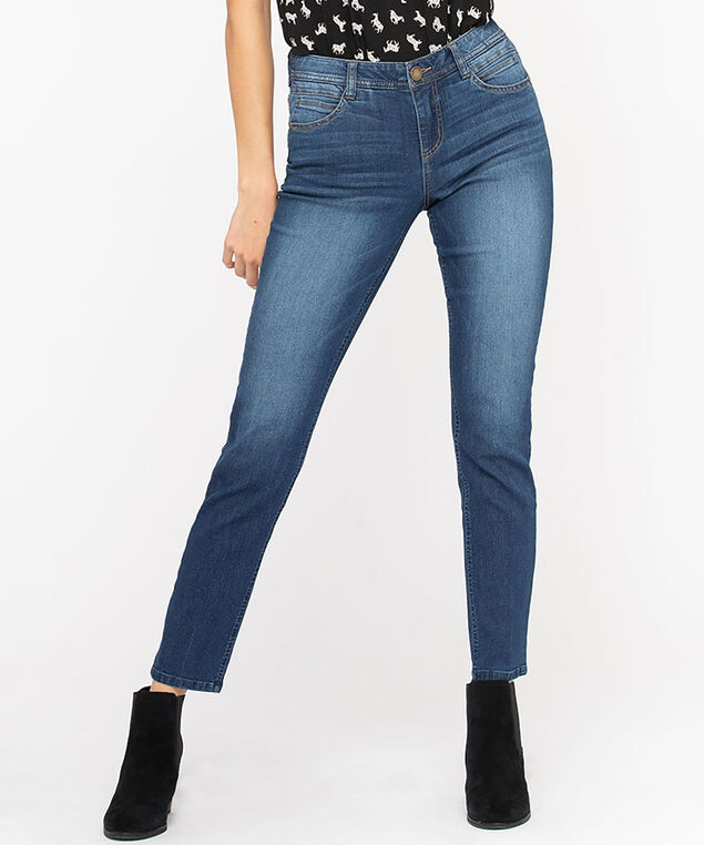 "Democracy ""Ab""solution Vintage Skinny Jean, Mid Wash"